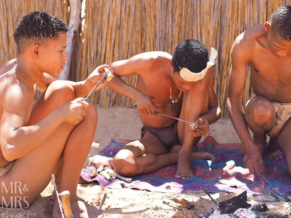 Cultural South Africa - Khomani craftsmen