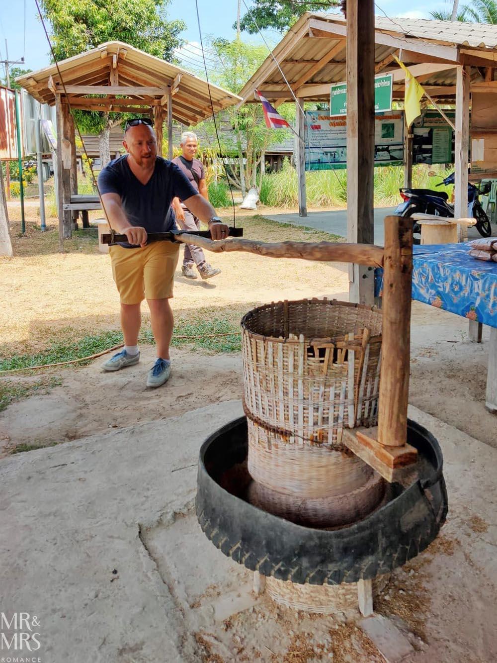 Koh Klang, Thailand - rice mill