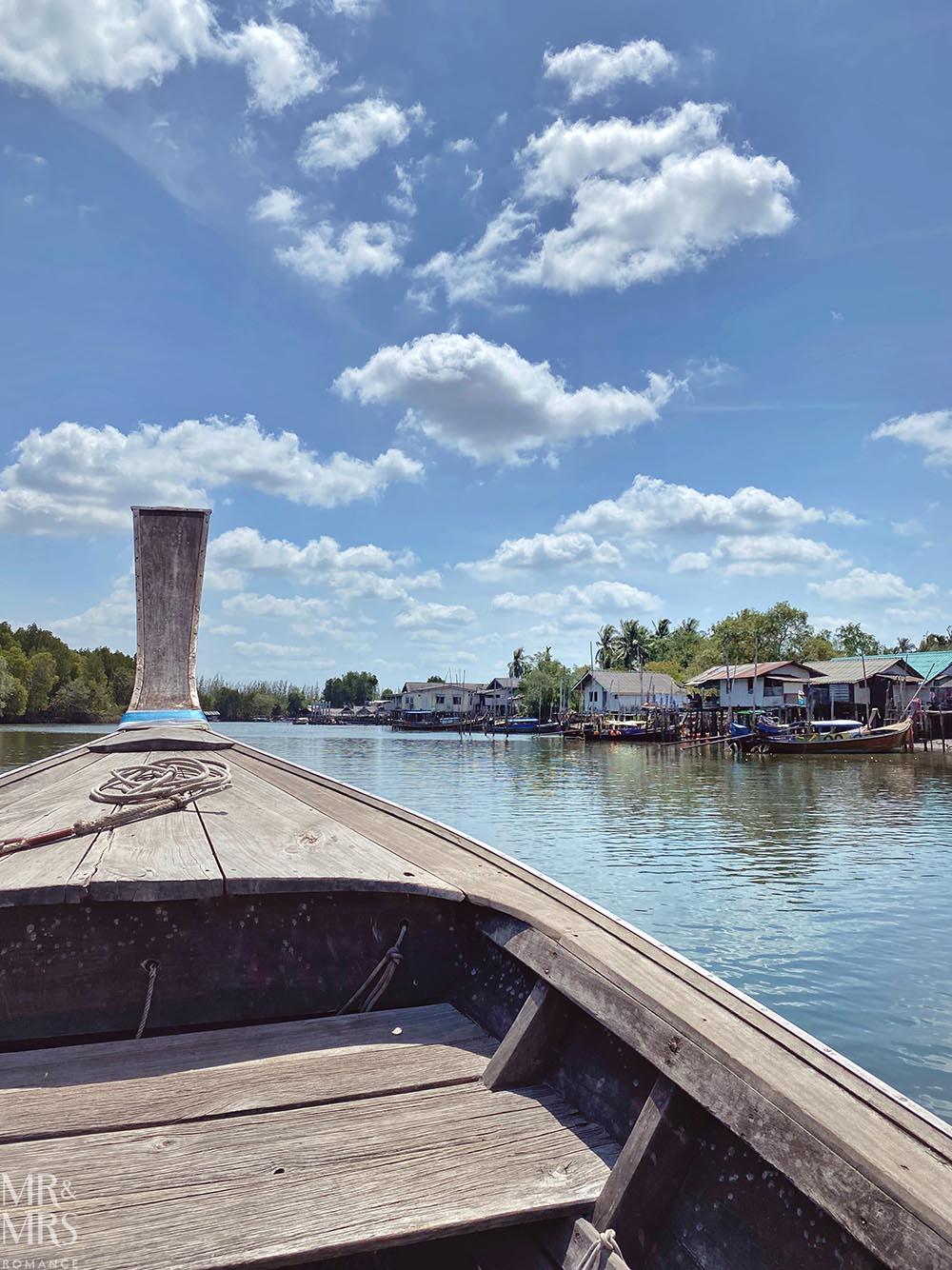 Koh Klang, Thailand - long tail boat