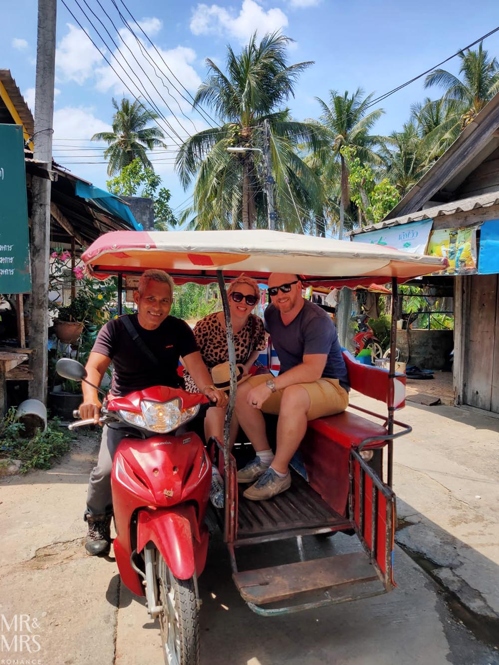Koh Klang, Thailand - the only mode of transport on the island