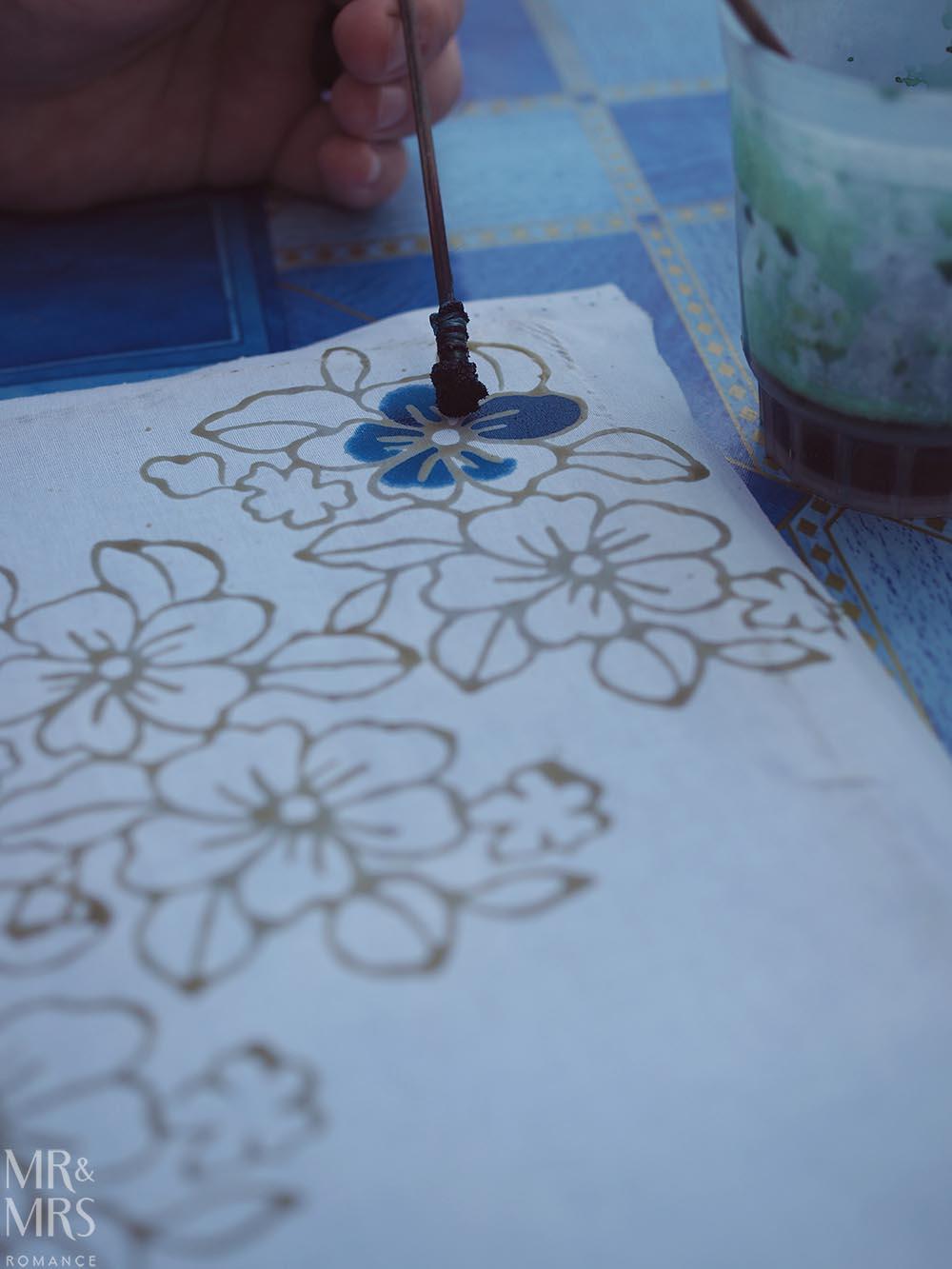 Koh Klang, Thailand - batik painting