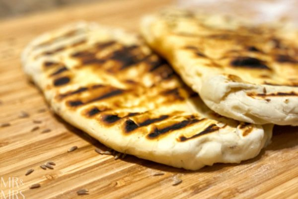 Easy no-yeast naan bread recipe
