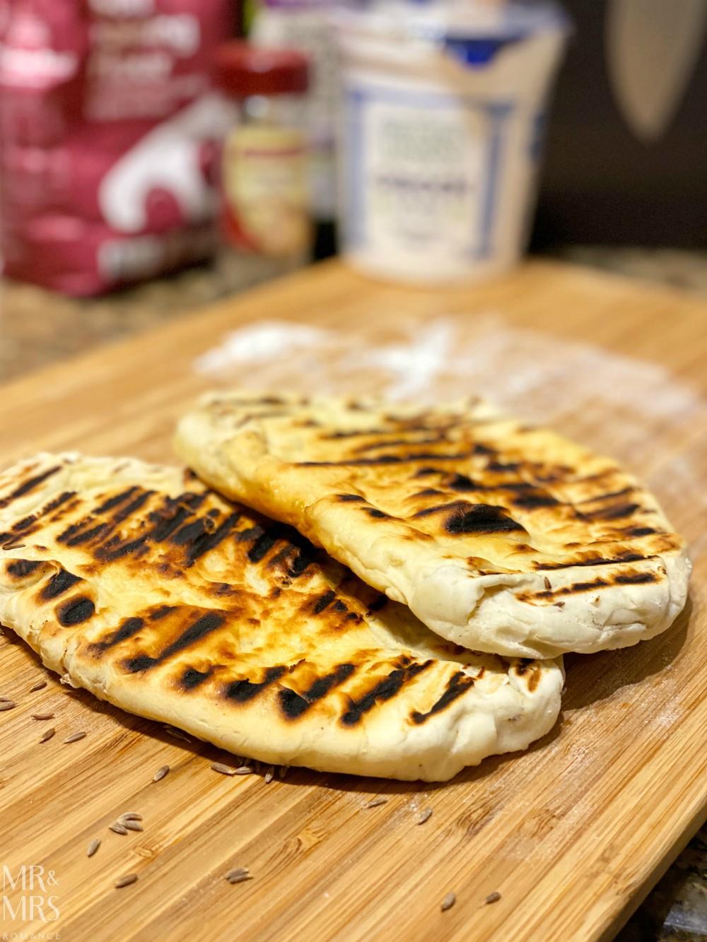 Easy no-yeast naan bread recipe