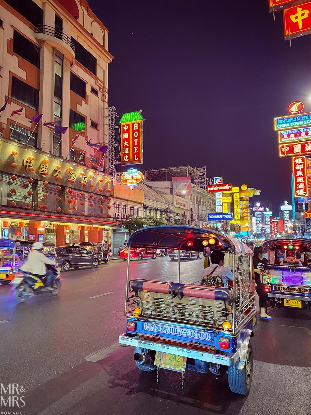Yoawarat - Bangkok Chinatown. What it's like on the Dragon Road