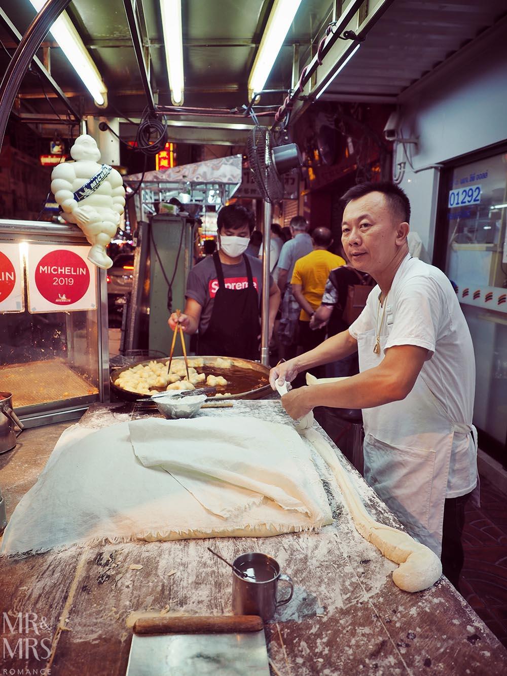 Yoawarat - Bangkok Chinatown - Chinese fried dough