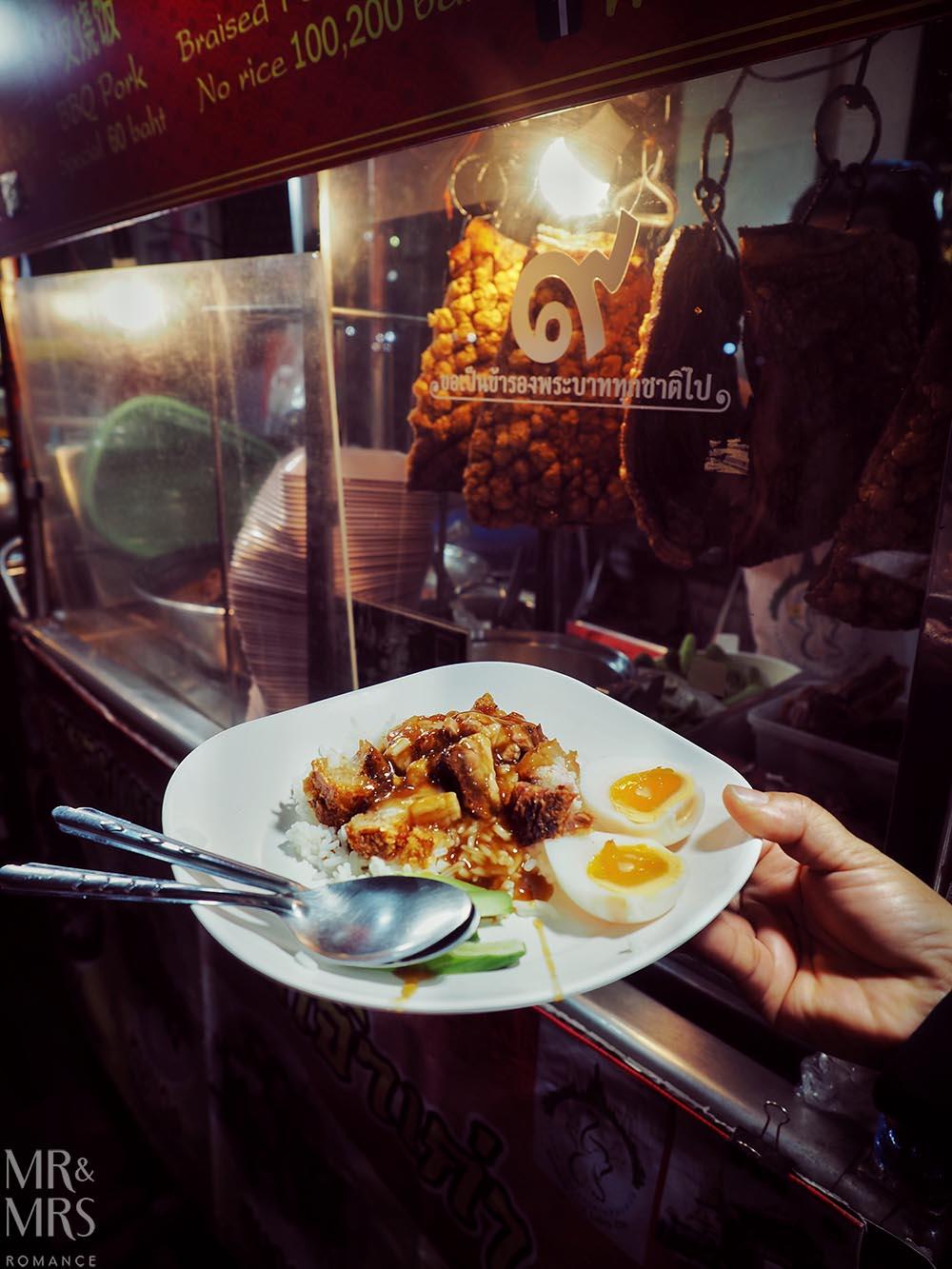 Yoawarat - Bangkok Chinatown - pork belly