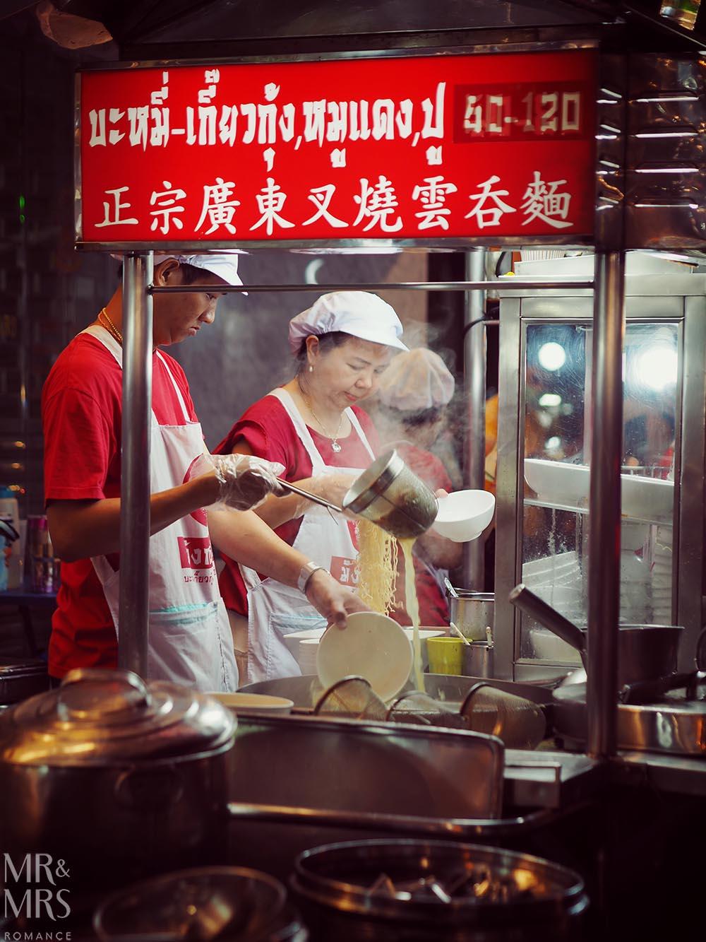 Yoawarat - Bangkok Chinatown - fresh noodles
