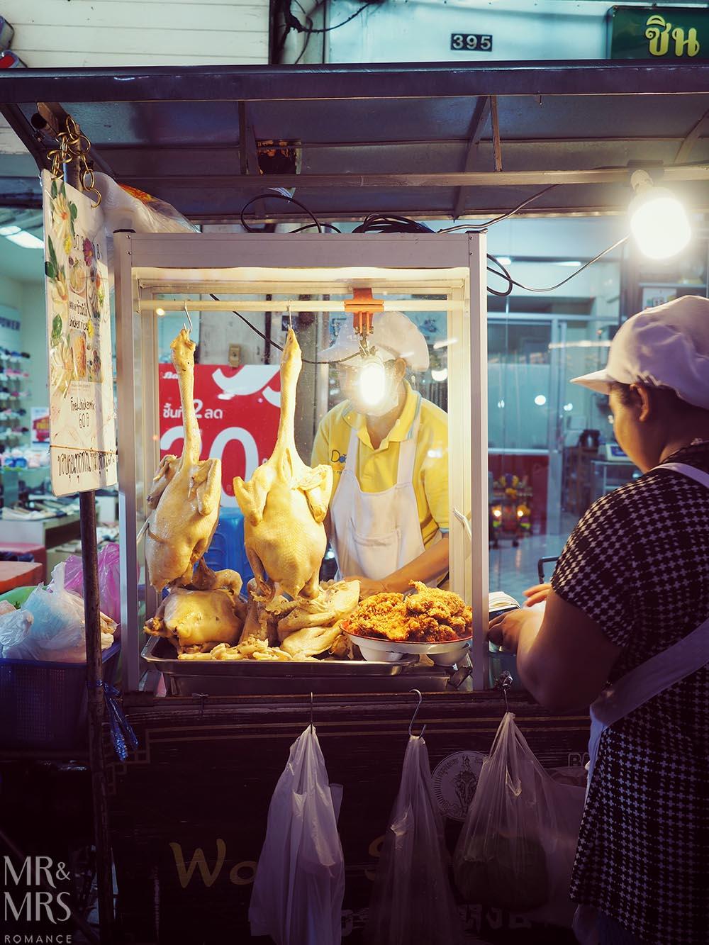 Yoawarat - Bangkok Chinatown - roast duck