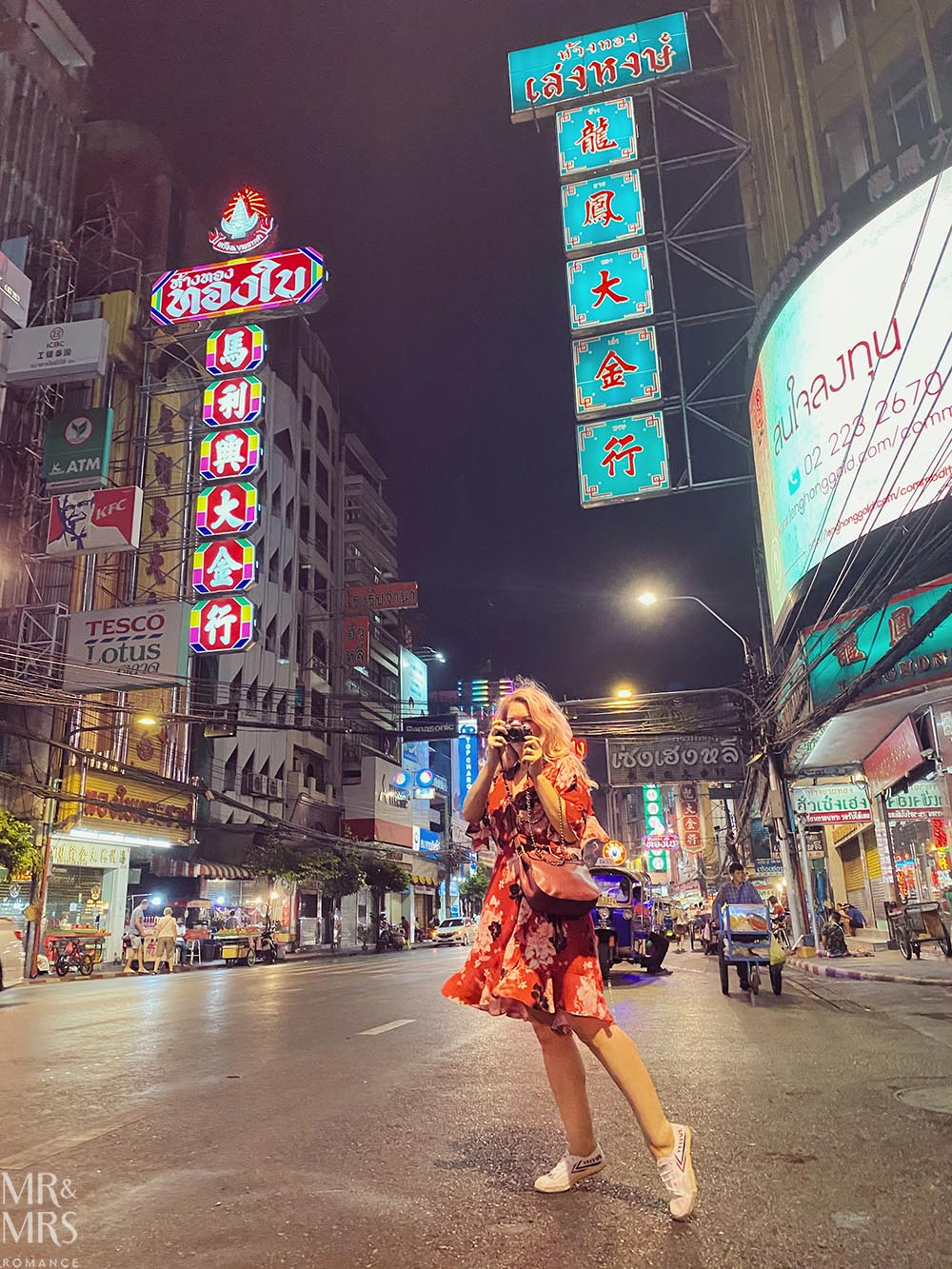 Yoawarat - Bangkok Chinatown - Christina
