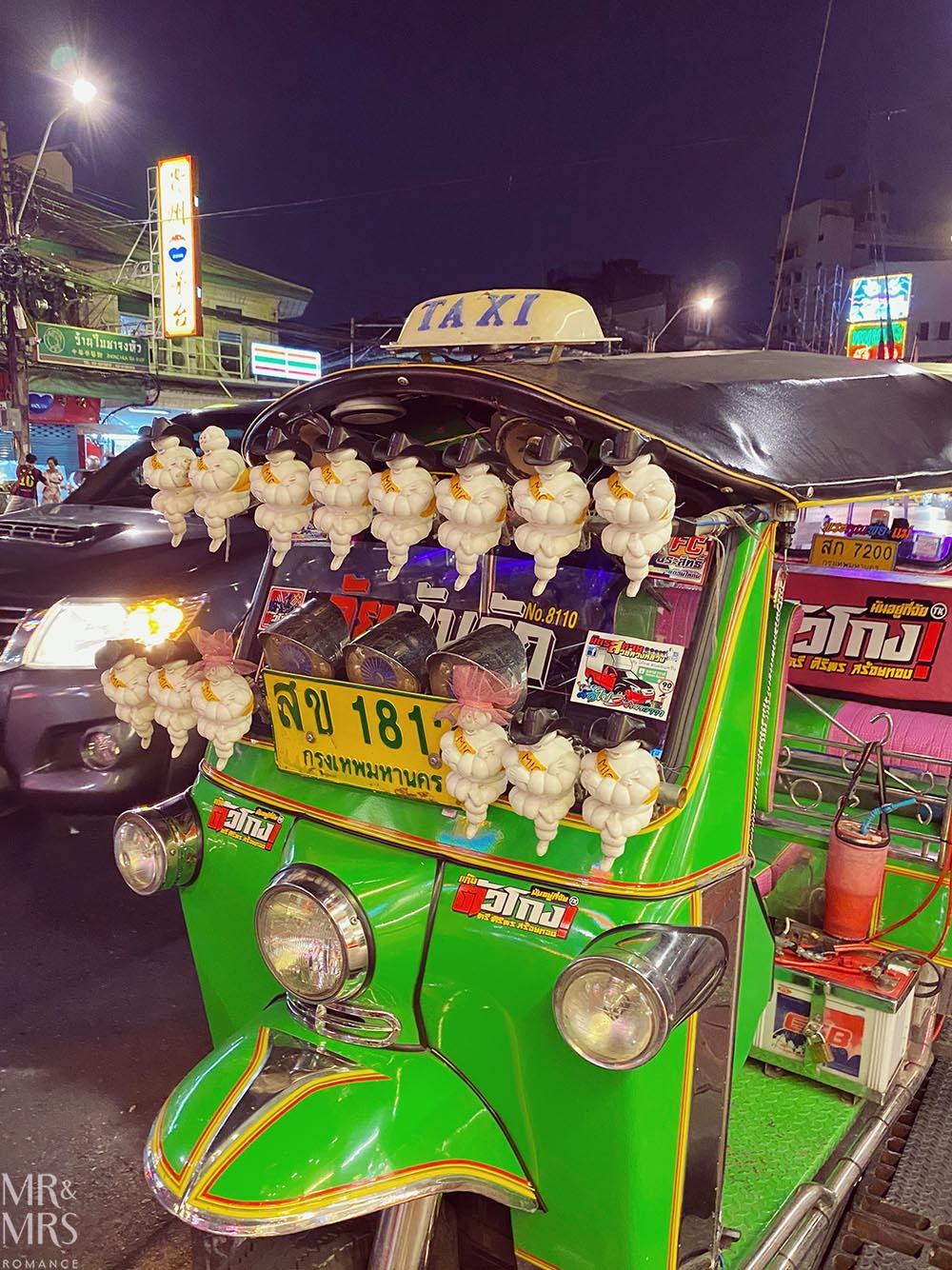 Yoawarat - Bangkok Chinatown - Michelin tuktuk