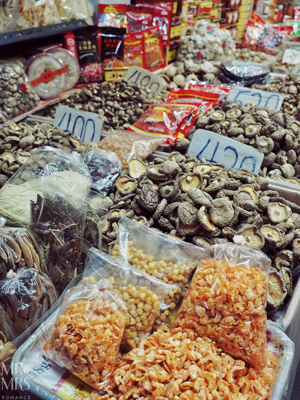 Yoawarat - Bangkok Chinatown - mushrooms