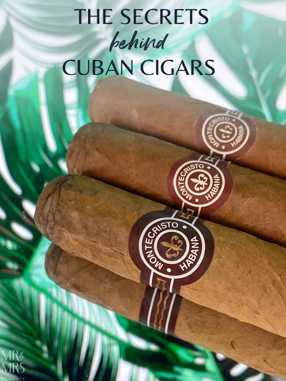 Cuban cigars - the history and culture of cigar bands and cigar labels - Montecristo