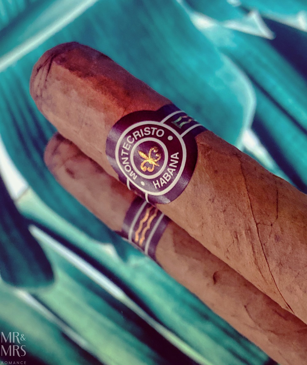 Cuban cigars - the history and culture of cigar bands and cigar labels - Montecristo No4 c2015