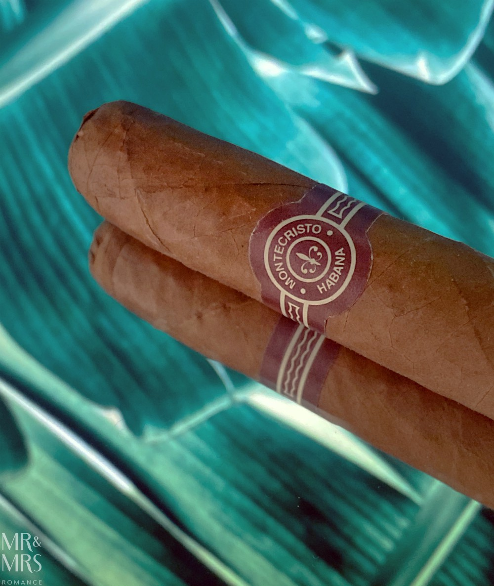 Cuban cigars - the history and culture of cigar bands and cigar labels - Montecristo tubos c2005