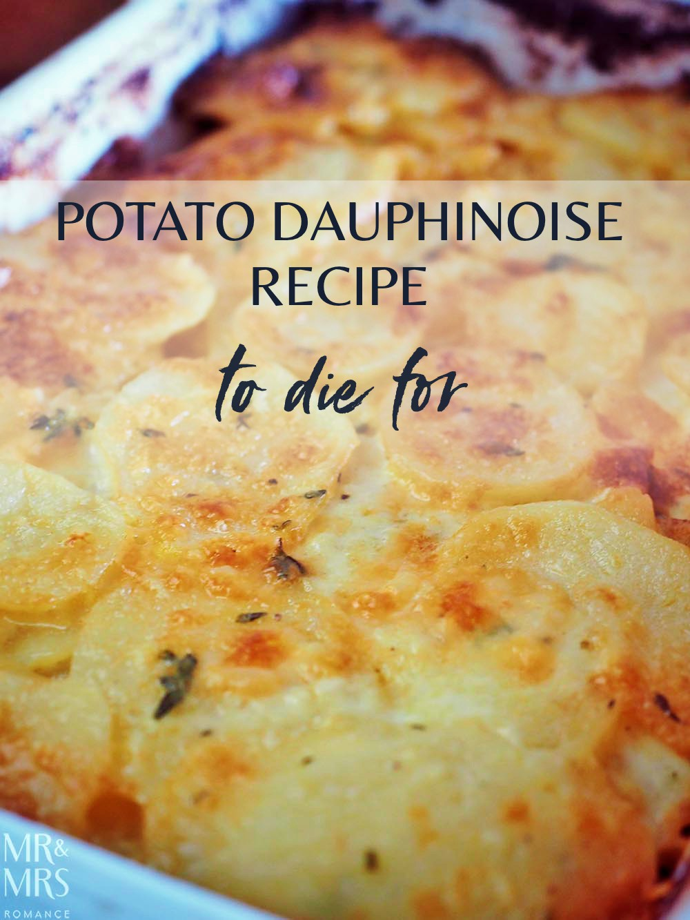 Potato dauphinoise recipe by Manu Feildel
