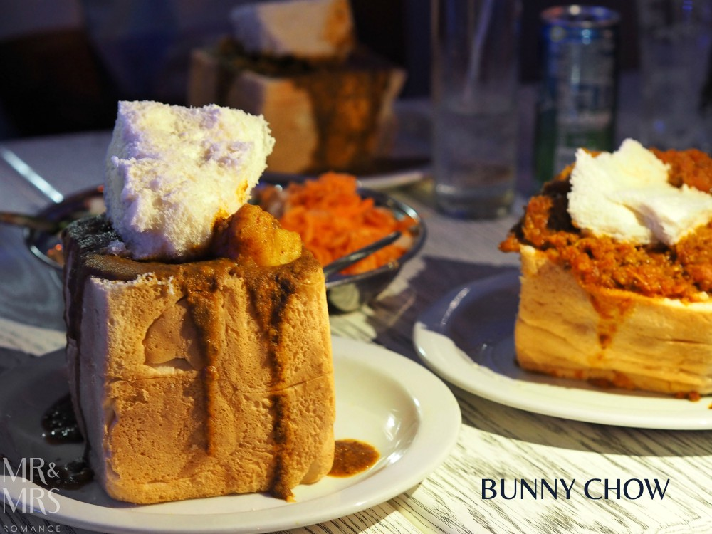 South Africa food - bunny chow, Durban