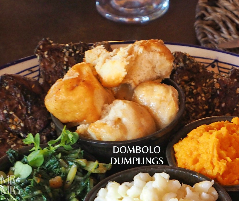 South Africa food - dombolo dumplings