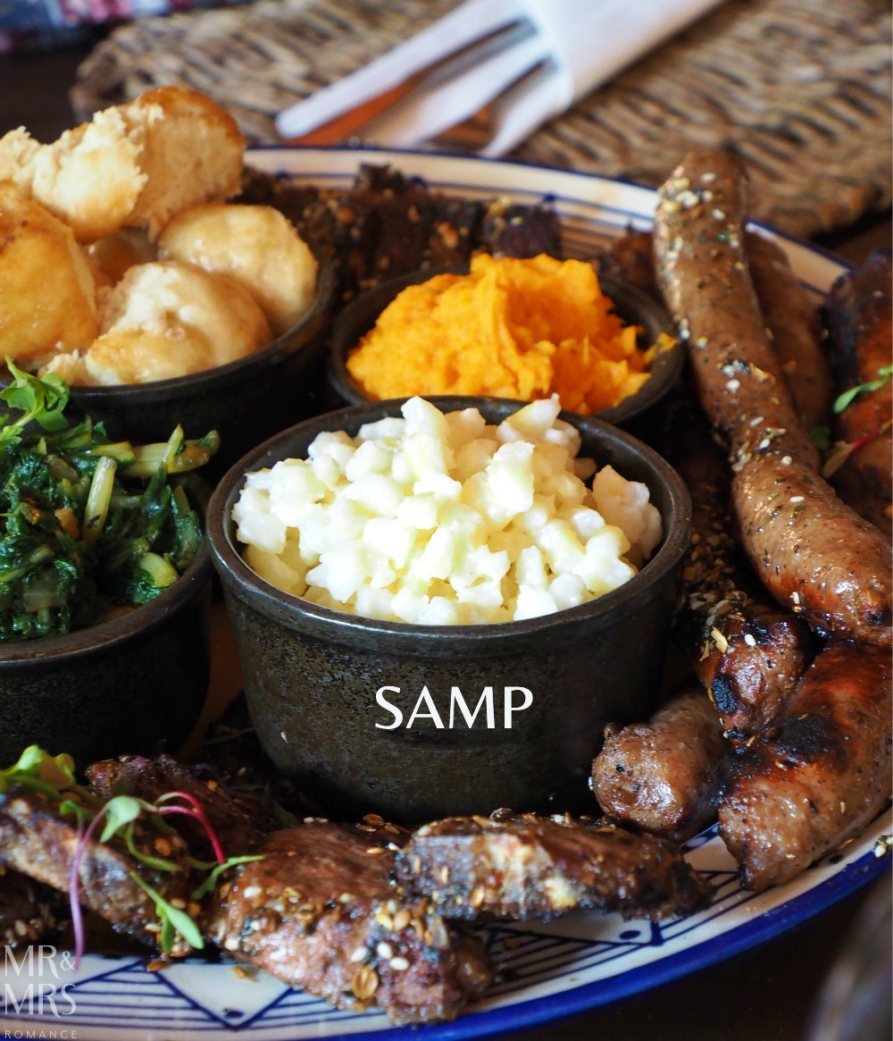 South Africa food - samp