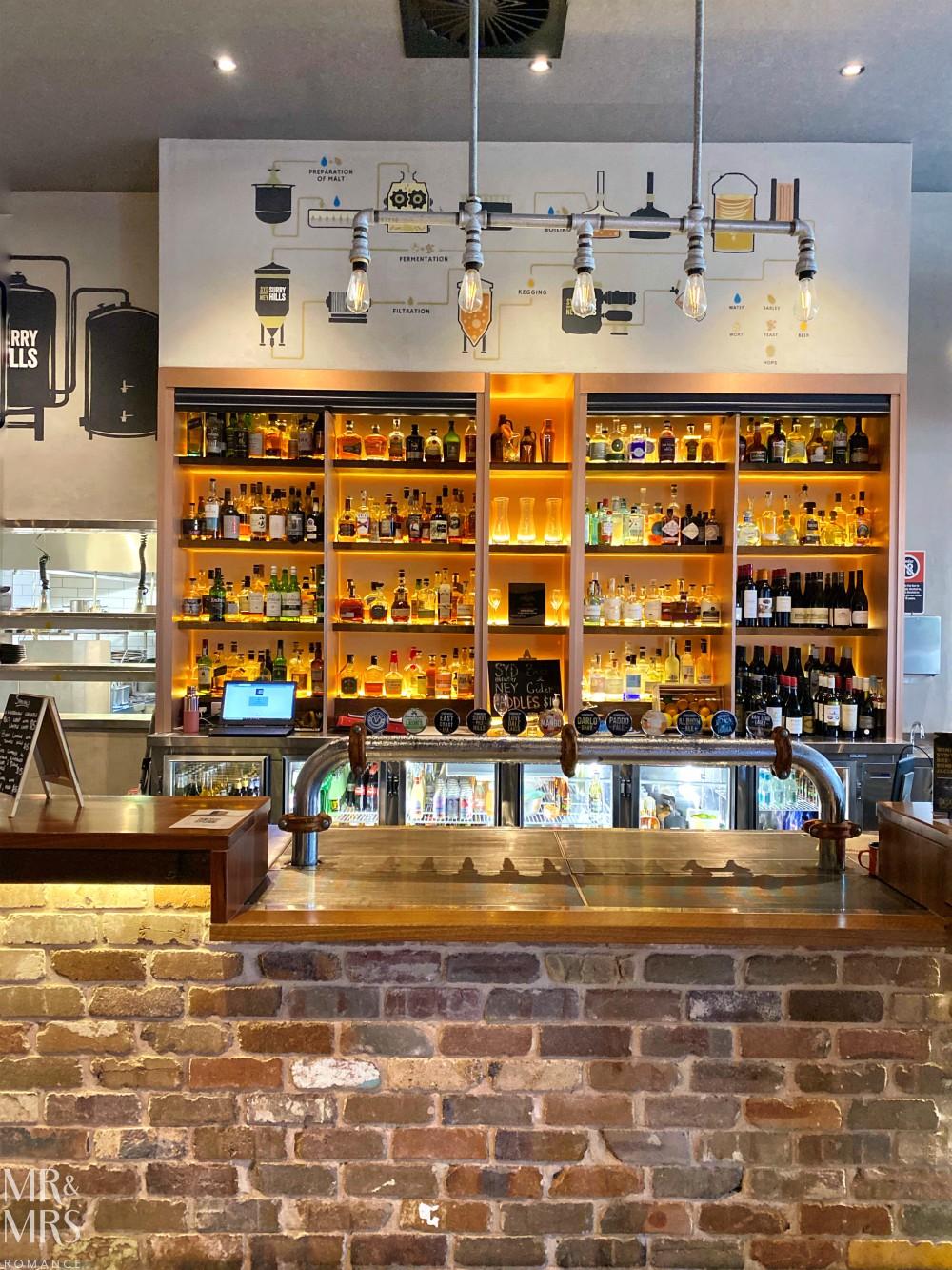 Sydney Brewery bar
