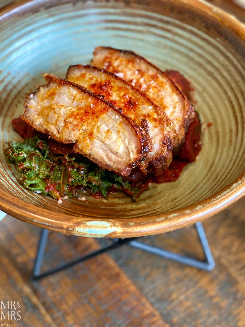 Sydney Brewery - smoked pork belly feijoada