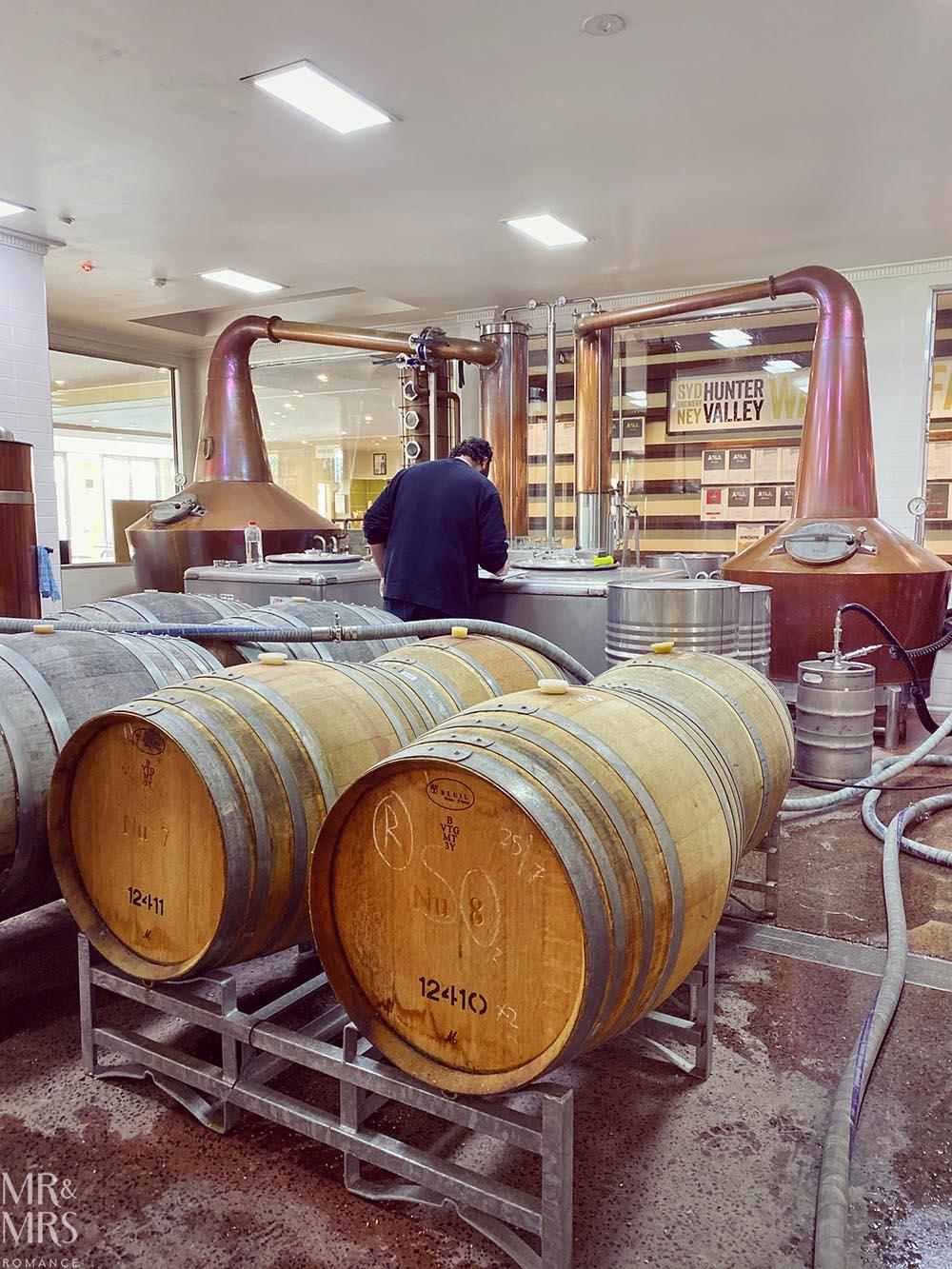 Spirit of Sydney distillery, Lovedale, Hunter Valley