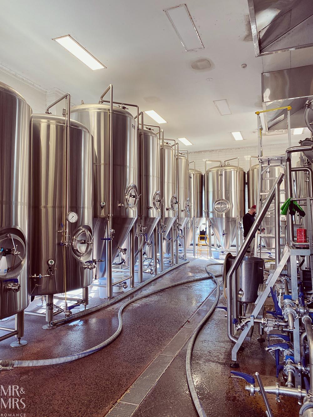 Sydney Brewery tanks