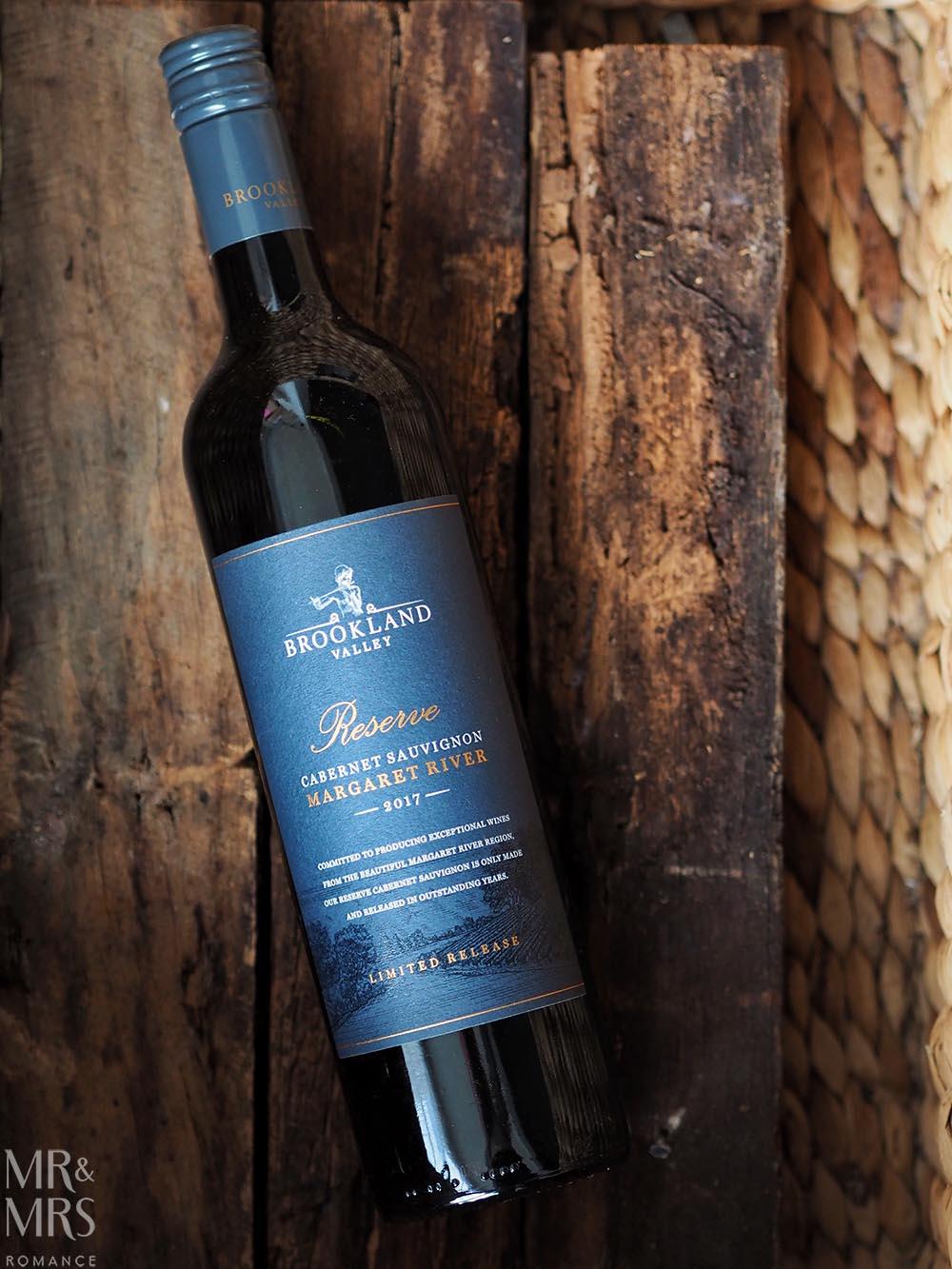 Wine tasting - Brookland Valley Reserve Cab Sauv