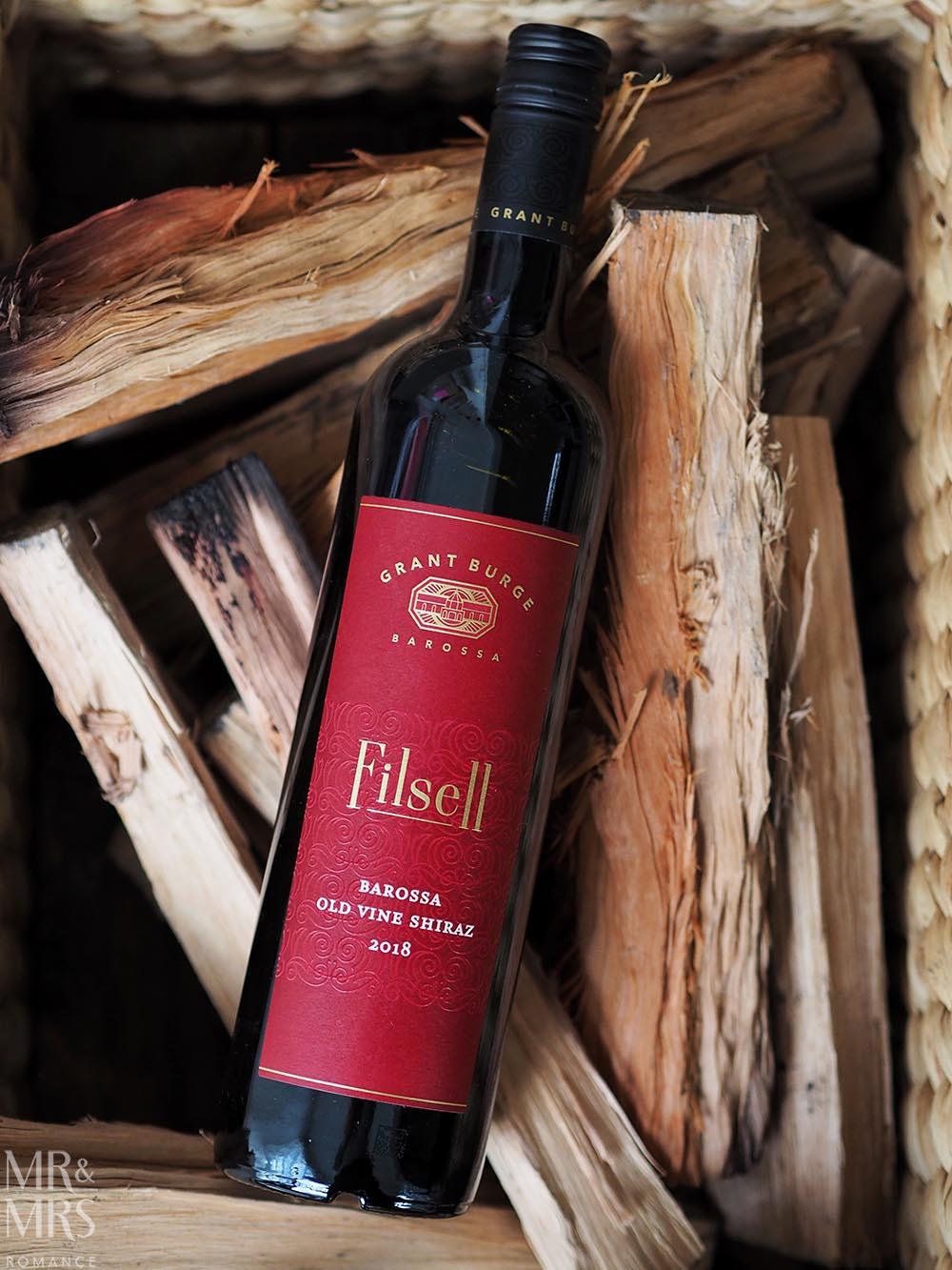 Wine tasting - Grant Burge Filsell Shiraz