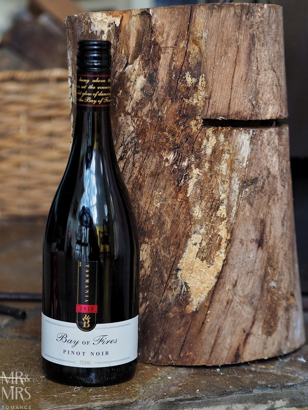Wine tasting - Bay of Fires Pinot Noir