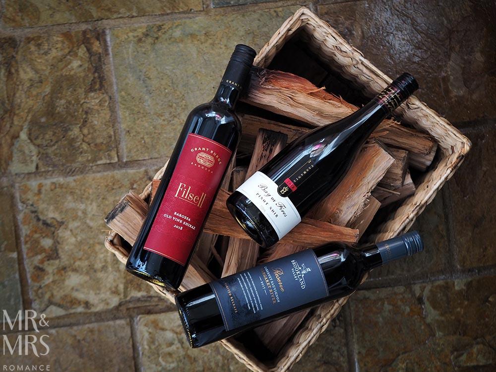 Wine tasting - Aussie winter reds