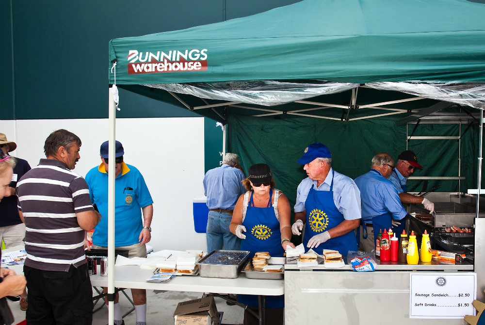 American hotdogs - Bunnings sausage sizzle