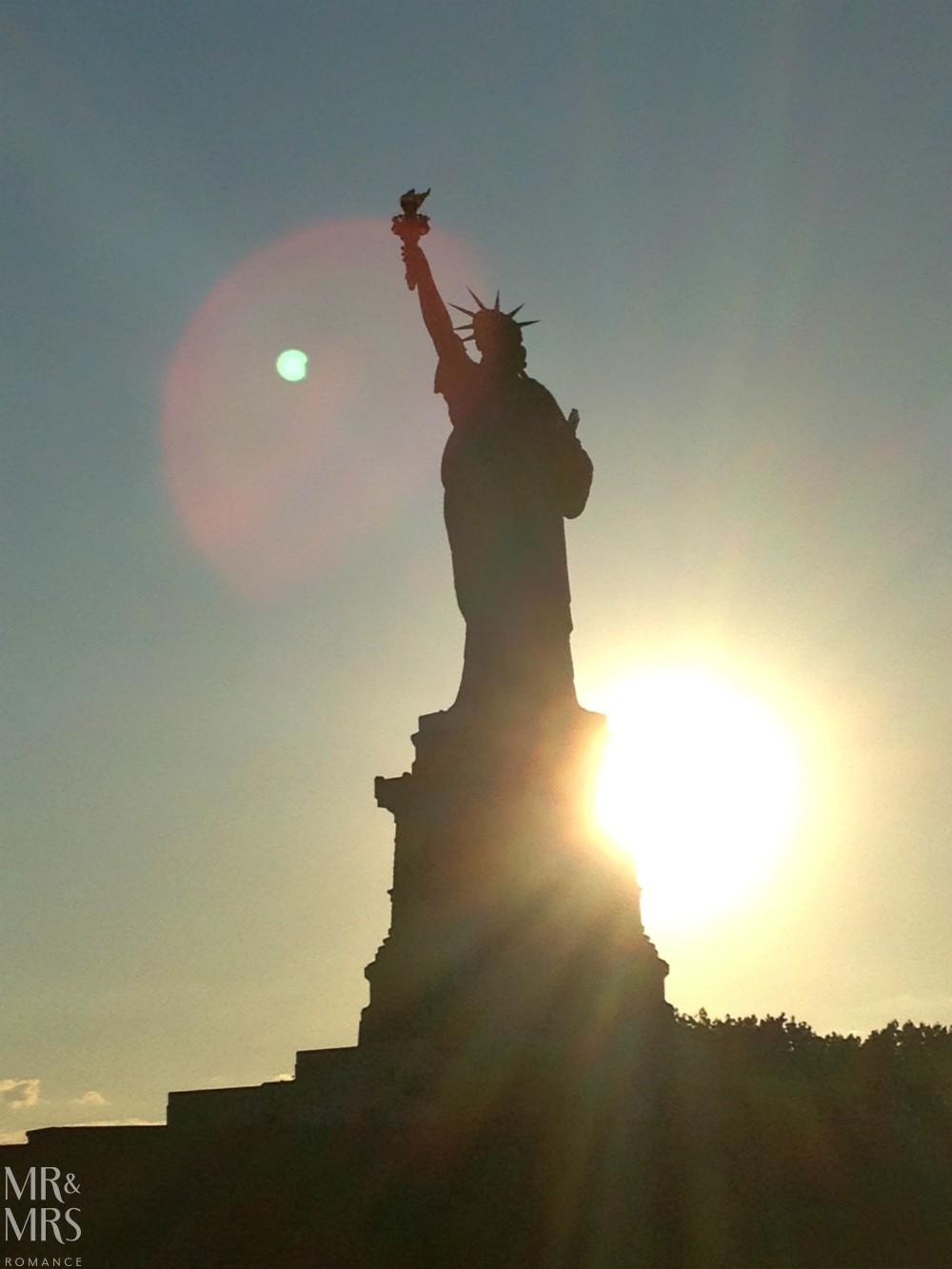 American hotdogs - New York City Statue of Liberty