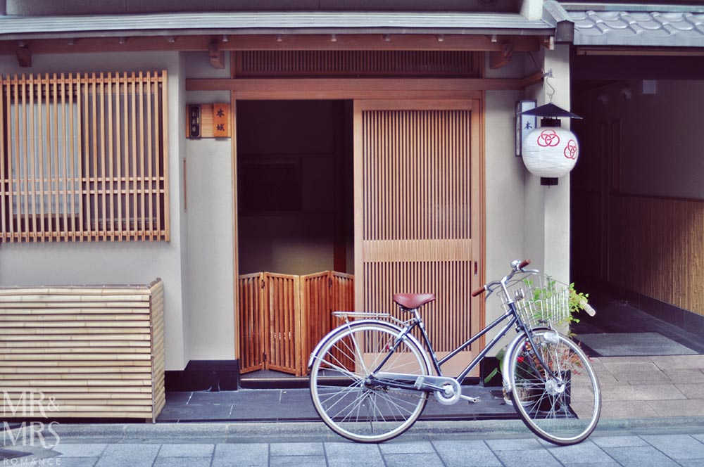 JR Rail pass - Japan bike and house