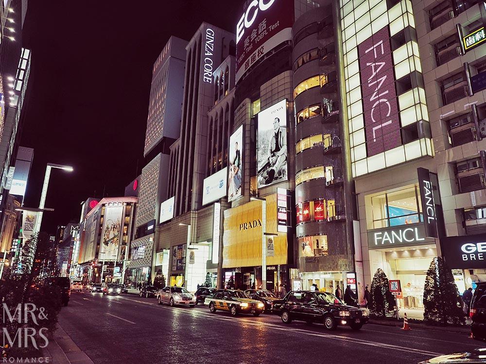 JR Rail pass - Tokyo streets