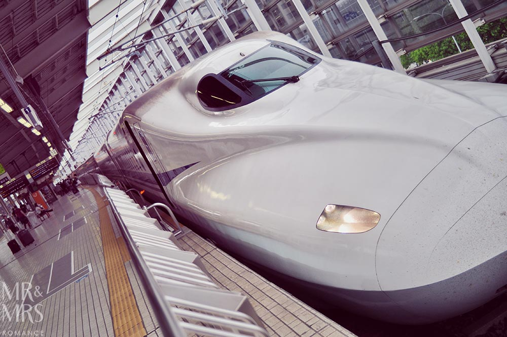 JR Rail pass - Shinkansen Japan