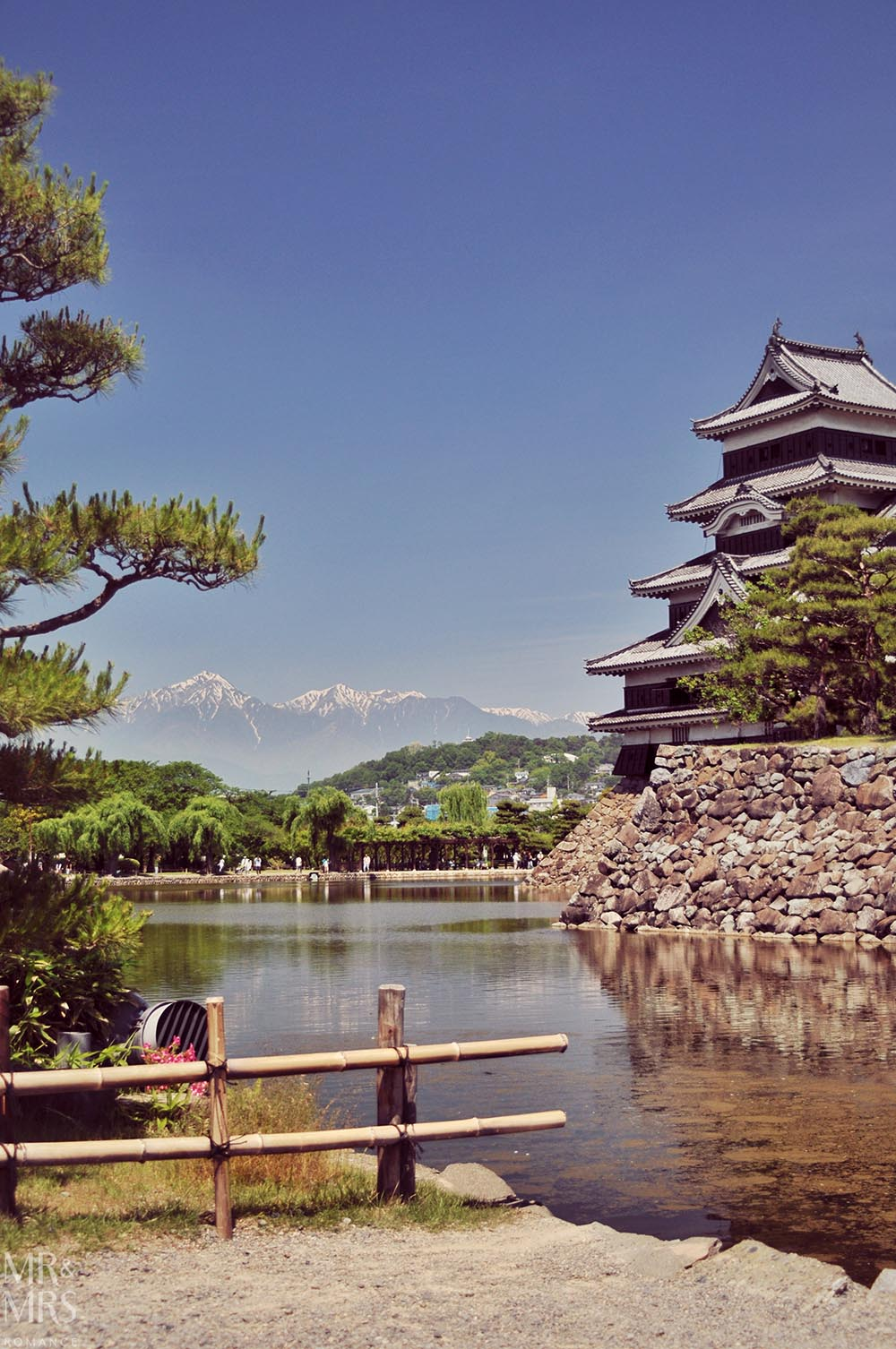 JR Rail pass - Matsumoto Castle Japan