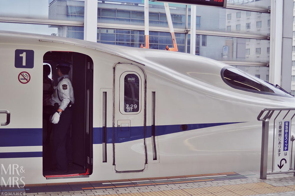 JR Rail pass - Shinkansen train Japan