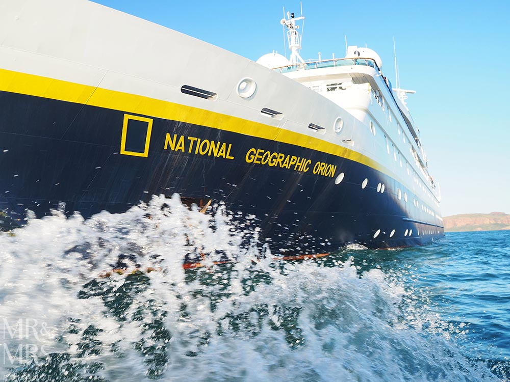 National Geographic Lindblad Orion expedition ship to the Kimberley