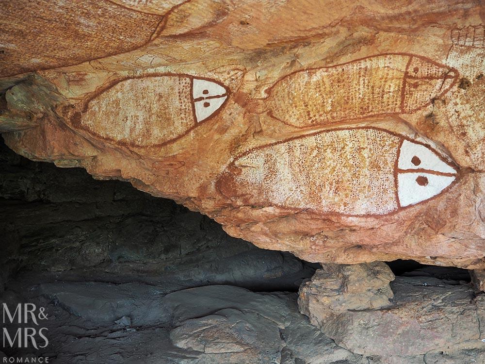 Umbre Wandjina rock art