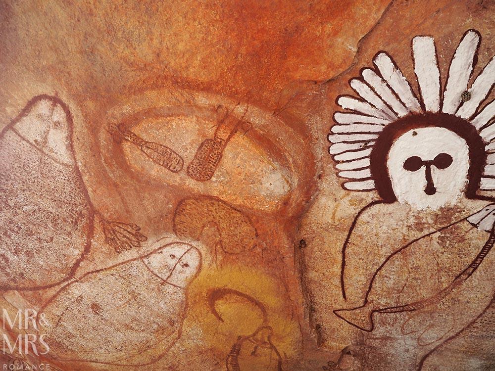 Umbre Wandjina rock art, the Kimberley, Western Australia