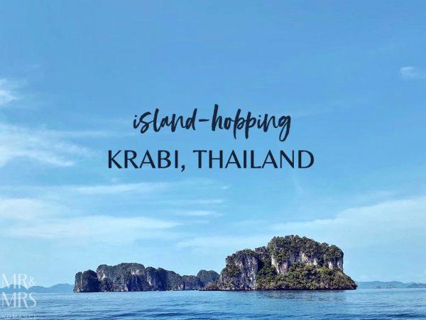 Island-hopping Krabi, Thailand private speedboat