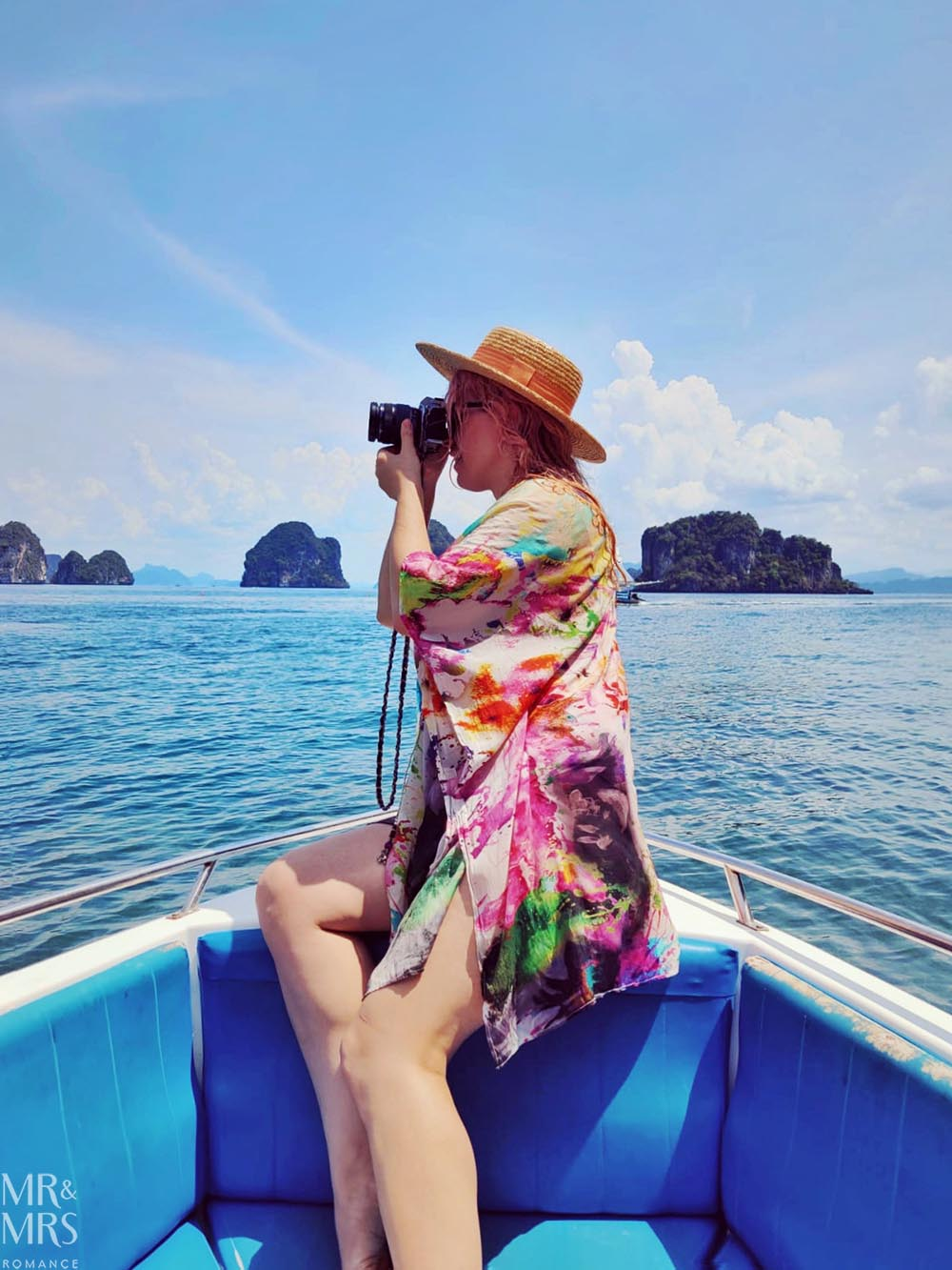 Island-hopping Krabi, Thailand private speedboat Christina Butcher photographer