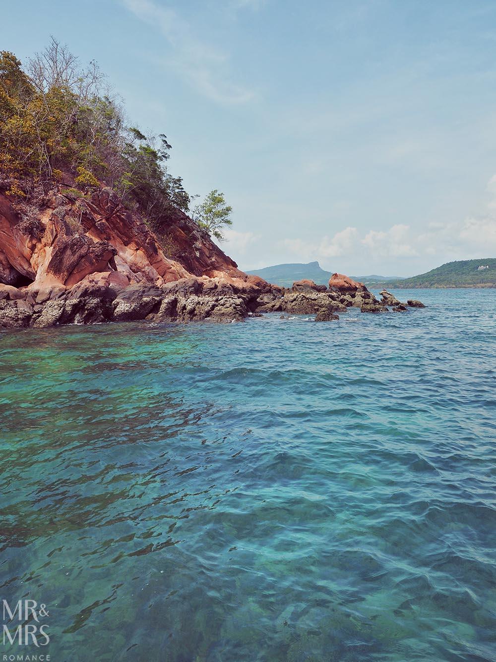 Island-hopping Krabi, Thailand private speedboat Ko Deang