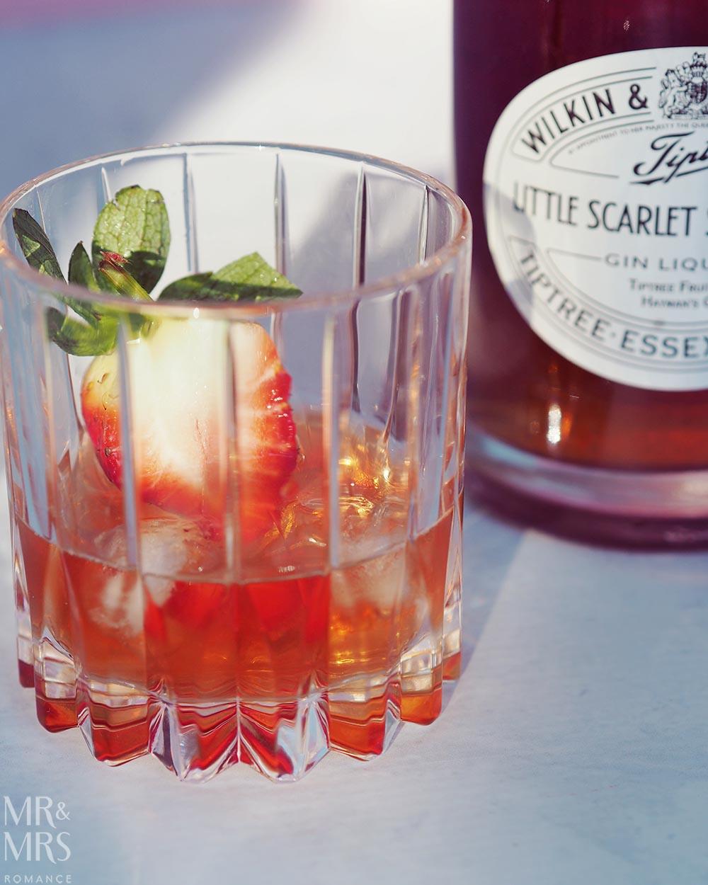 Wilkin Estates Tiptree Jam Co - Little Scarlet strawberry gin liqueur