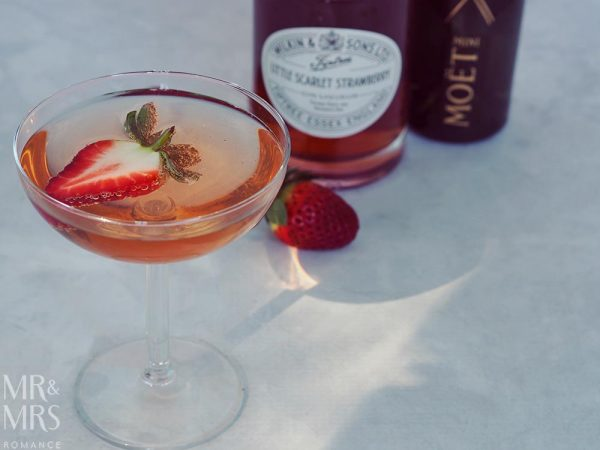 Wilkin Estates Tiptree Jam Co - Little Scarlet strawberry gin liqueur - gin royale