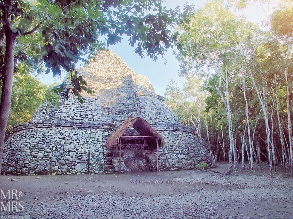 Mayan ruins in Mexico - Coba temple