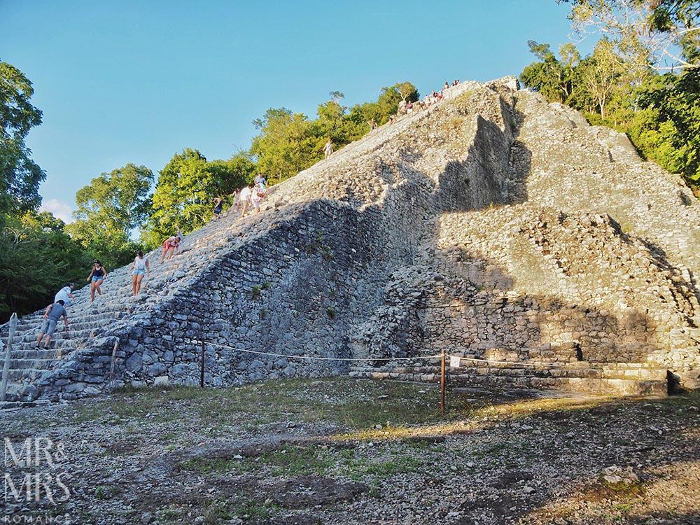 Mayan ruins in Mexico - Nohoch Mul, Coba