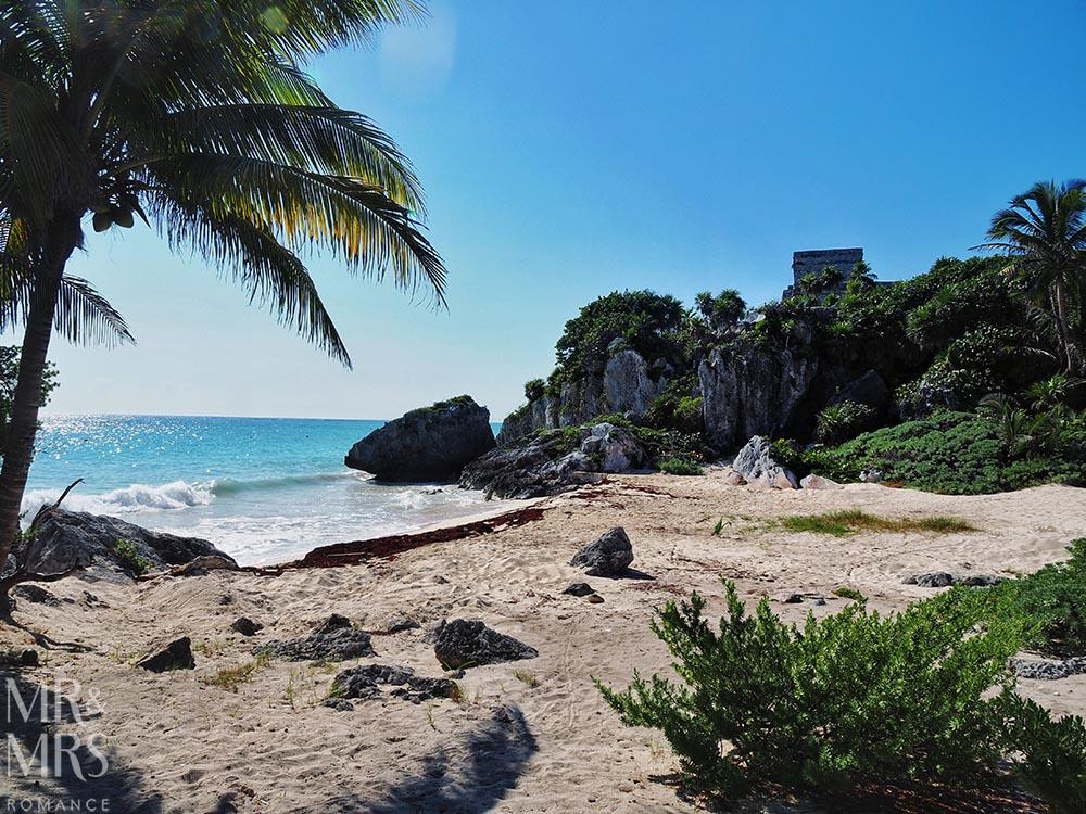 Mayan ruins in Mexico playa ruinas Tulum