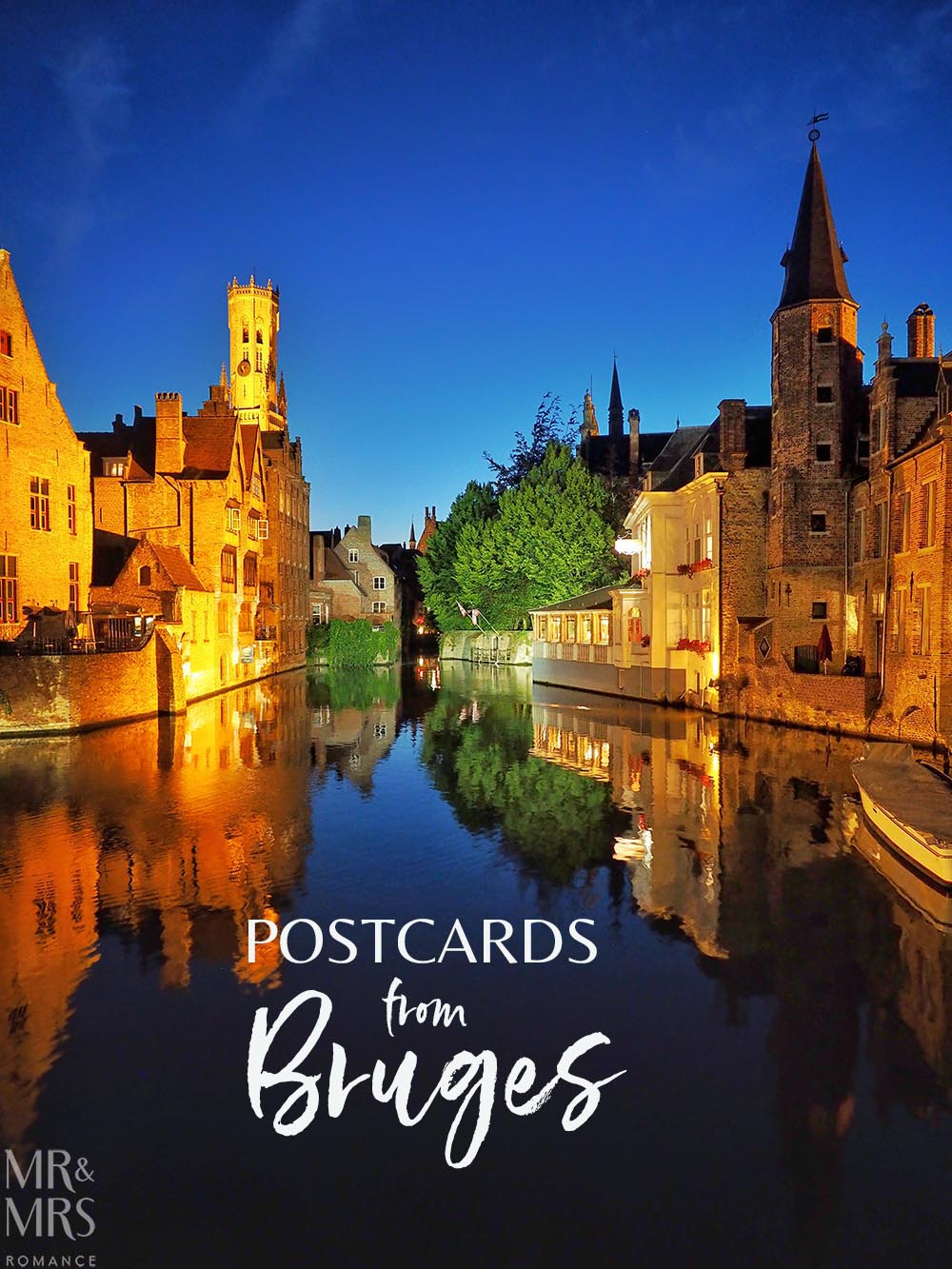 Postcards from Bruges, Belgium