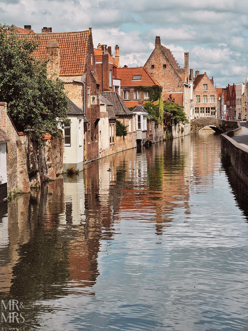 Postcards from Bruges, Belgium - canals and architecture